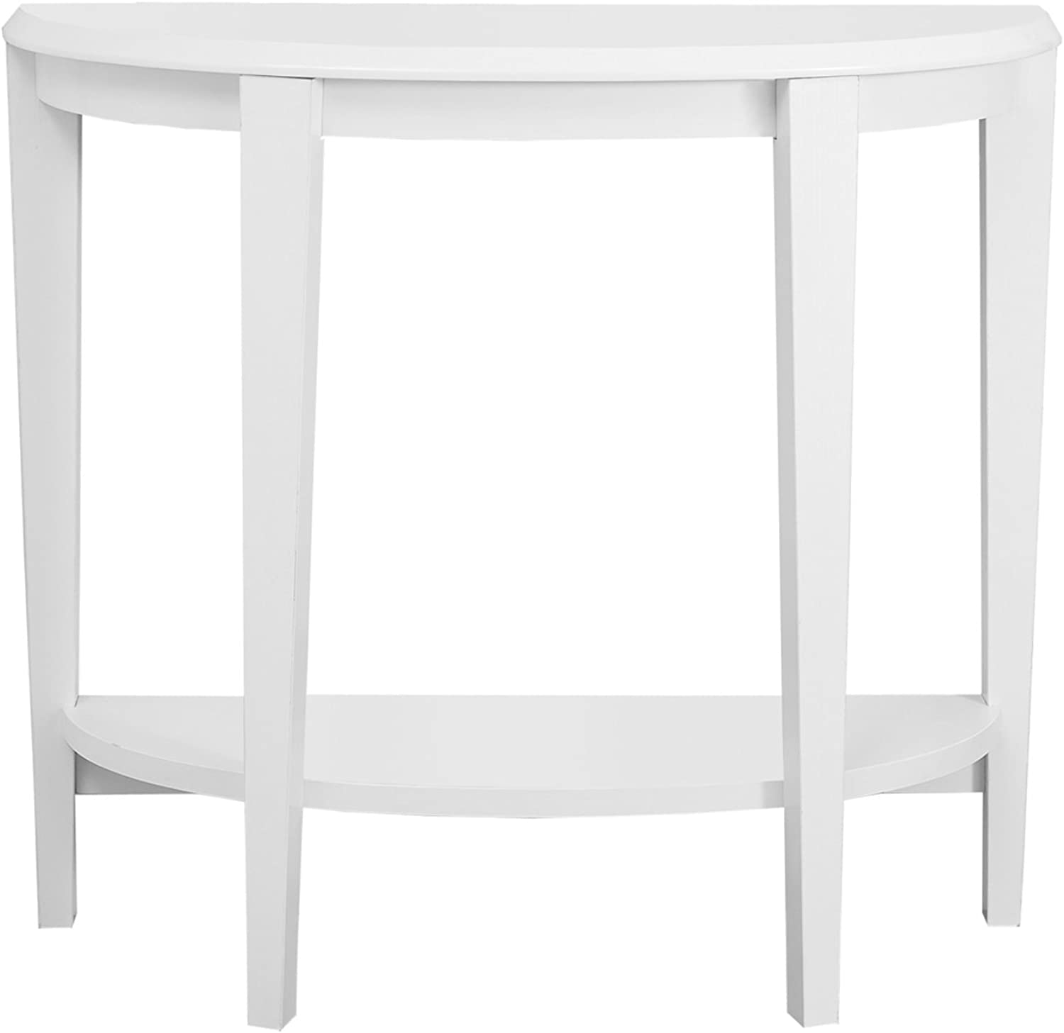 Monarch Specialties I 2451 White Hall Console Accent Table, 36