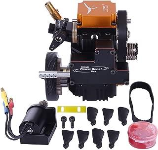 Yamix 4 Stroke Petrol Engine RC Engine Toyan Engine DIY Engine Motor for 1:10 1:12 1:14 RC Car Boat Airplane (FS-S100G)