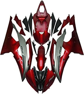 NT FAIRING Red Grey Injection Mold Fairing Fit for Yamaha 2008-2016 YZF R6 New Painted Kit ABS Plastic Motorcycle Bodywork Aftermarket