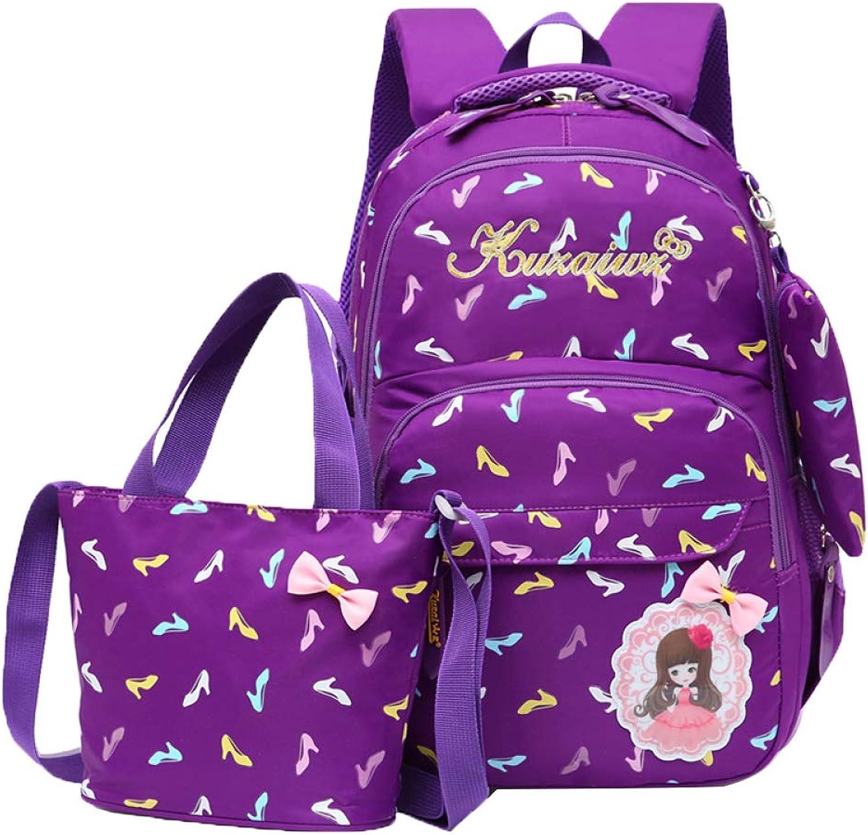 SEJNGF Kinder Schultasche Mädchen 1-3-5 Jahre Große Kapazität Rucksack Tasche 6-12 Jahre Alt Lässig Rucksack B07J3DFJH3 | Viele Sorten