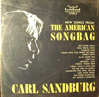 New Songs From The American Songbag LP  1955