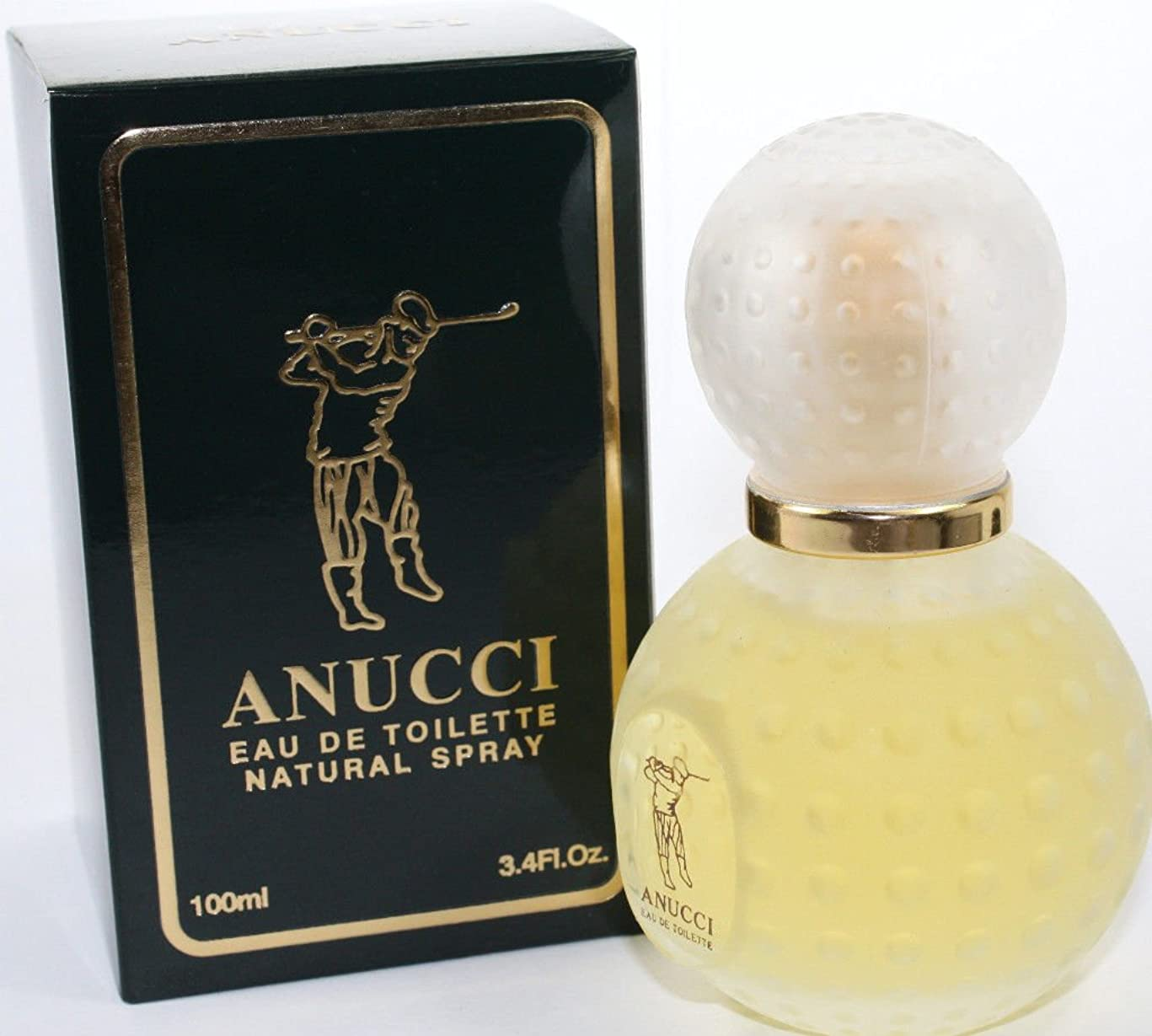 確執不完全許可Anucci(アヌッチ) 3.4 oz (100ml) EDT Spray for Men