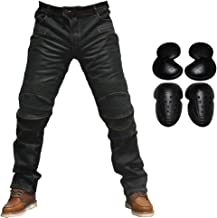 BUSA Bikers Gear 97 Homme Bleu Stretch Slim Cut Pantalon Moto Jeans renforc/é avec protection aramideavec Armure 32W 30L
