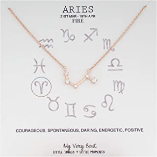 Horoscope Constellation Zodiac Sign Necklace