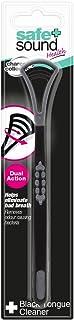 Safe + Sound - Limpiador de lengua (21 g), color negro