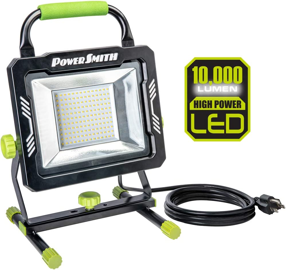 Powersmith PWL1100S Direct stock discount Portable LED sale Work Stand Black Light with