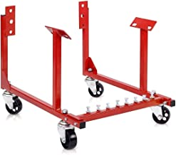 Goplus Chevy Engine Cradle Stand 1000lb Dolly Chrysler Chevrolet Wheels