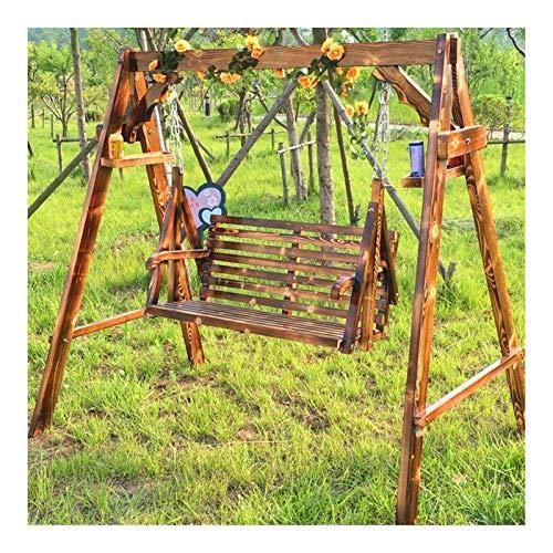 Balancín de columpio grande para exteriores con soporte, silla de columpio para patio al aire libre, muebles de patio, hamacas, para patio, jardín, piscina, balcón, muebles de patio, hamaca