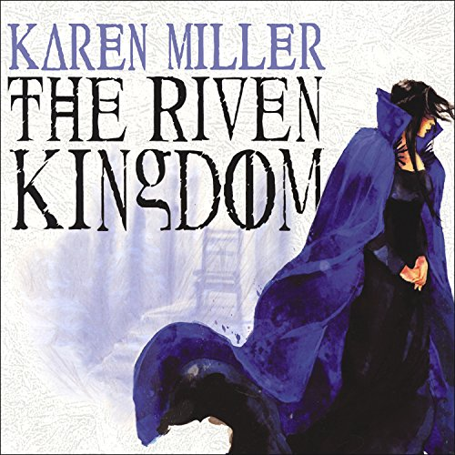 The Riven Kingdom audiobook cover art