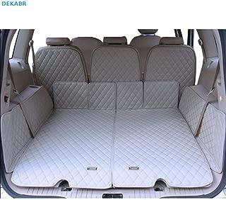 Car Lux AR01908 Alfombra Cubeta Protector cubre maletero a medida con antideslizante S-Max de 7 Plazas