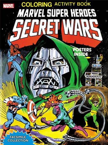 Marvel Super Heroes. Secret Wars. Activity Book (Activity Book Facsimile Collection)
