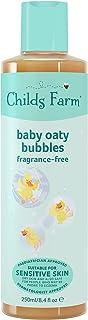 Childs Farm - Baby Oaty Bubbles, Bubble Bath, Gently Cleanses & Moisturises, Sensitive Skin, Unfragranced, Suitable for Ne...