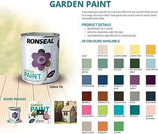 Ronseal Garden Paint 750ml, Moroccan Red