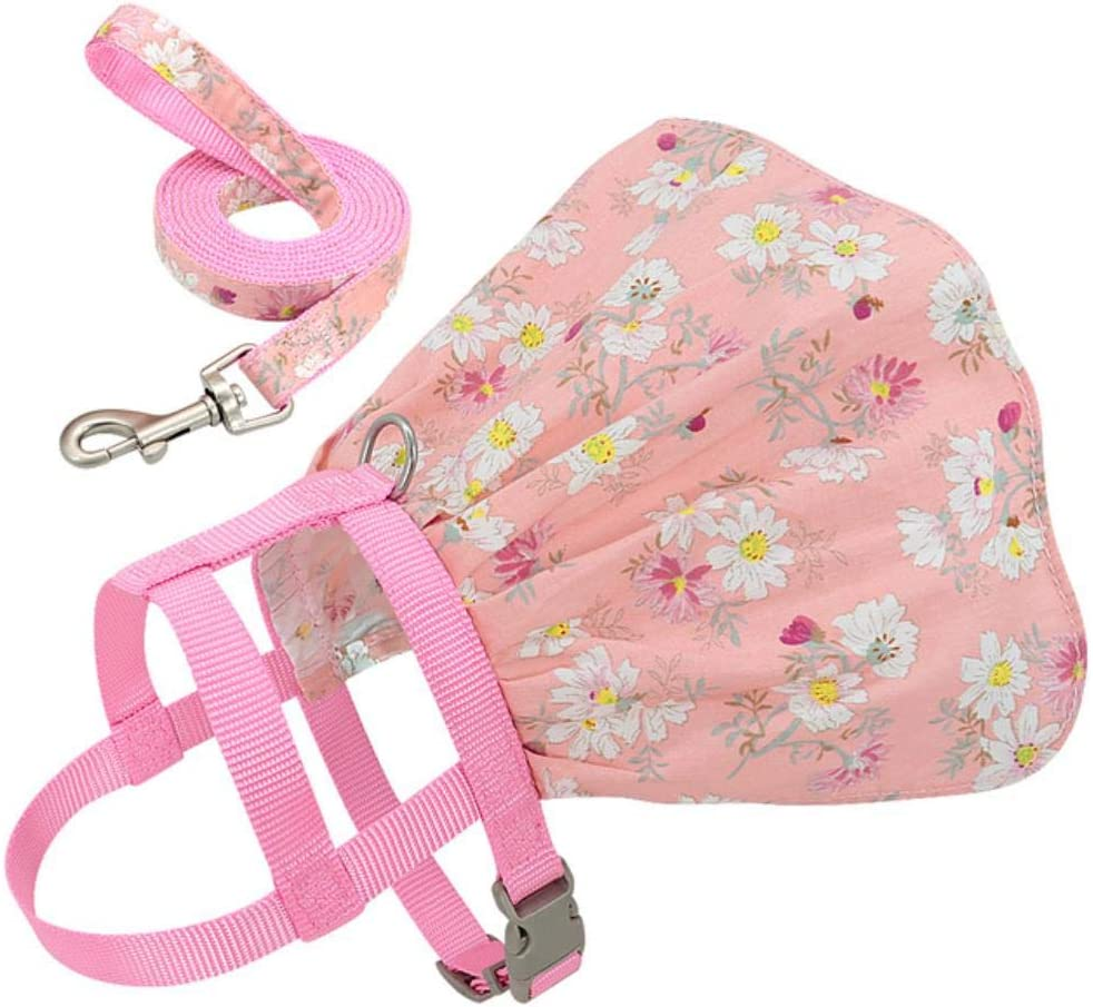 QIANNI Dog Leash Small Recommendation Department store Puppy Adjus Clothes Cat Harness