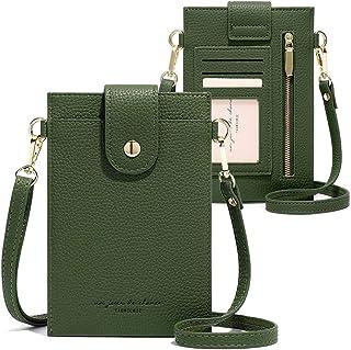 Womens Crossbody Cellphone Bag Small Shoulder Purse Card Wallet Satchel Pouch