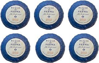 Acqua di Parma Blu Mediterraneo Arancia di Capri Wrapped Soaps 50 grams - Set of 6