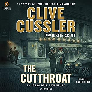 The Cutthroat audiobook cover art