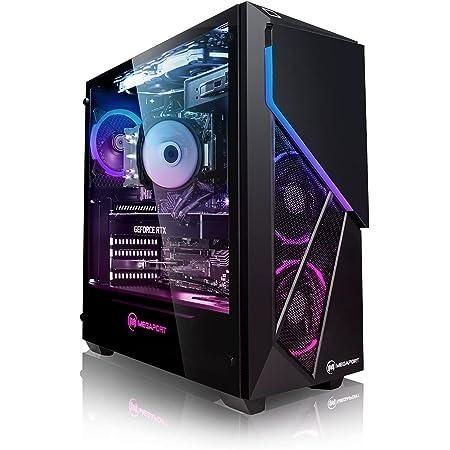 PC Gaming - Megaport Ordenador Gaming PC Intel Core i7-10700F 8X 2.90GHz • GeForce RTX 2060 6GB • 16 GB DDR4 • 480GB SSD • 1TB HDD • Windows 10 • WiFi • PC Gamer • Ordenador de sobremesa