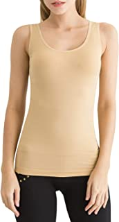 SlendShaper Women's Shapewear Tank Top Compression Firm Tummy Control Shaper Seamless Slimming Shaping Tanks