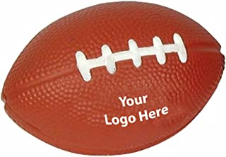 Football Stress Reliever - 100 Quantity - $1.25 Each - Promotional Product/Bulk/Branded with Your Logo/Customized