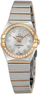 Constellation Diamond Mother of Pearl Dial Ladies Watch 12325246055005