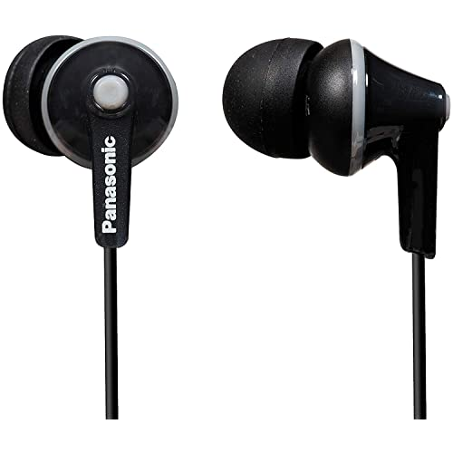 Panasonic RP-HJE125-K In-Ear Canal insidephone for Ipod/MP3 player( Black)