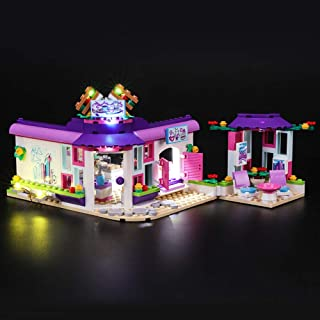 BRIKSMAX Kit de Iluminación Led para Lego Friends Café del