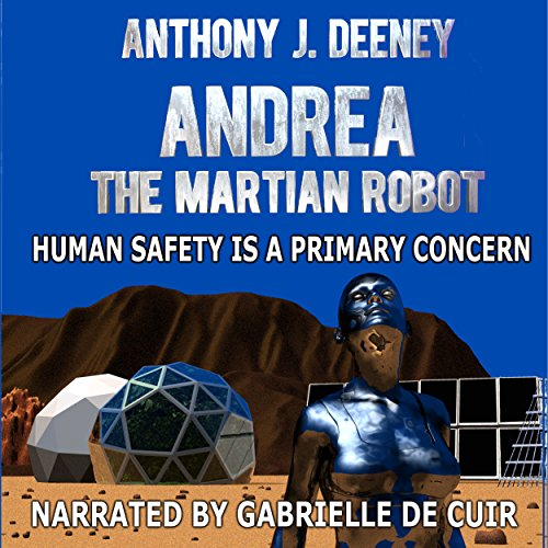 Andrea the Martian Robot audiobook cover art