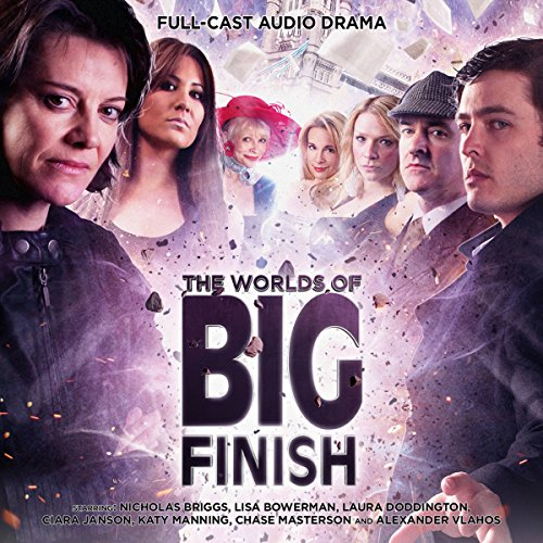 The Worlds of Big Finish audiobook cover art