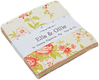 Ella & Ollie Charm Pack by Joanna Figueroa of Fig Tree Quilts; 42-5