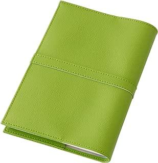 TEES FACTORY ジブン手帳カバー SION mini B6スリム 2019 日本製 グリーン 緑 PVC レザー