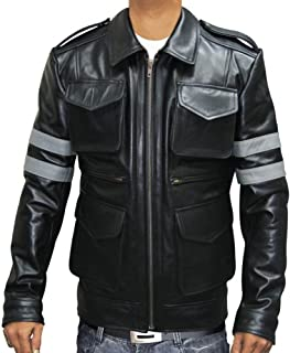 Resident Evil 6 Leon Kennedy Jacket Real Leather