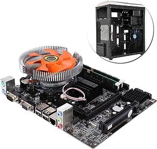Placa base de cuatro núcleos para PC (Socket LGA 771/775, 2 × DDR3 DIMM, 4 × SATA2.0, 4 × USB2.0, Tarjeta de red RTL8105E), Placa base de escritorio con sensor E/L5430, Ventilador adecuado para oficin