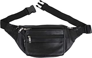 b9a53bb07d36 Leather Waist Bags: Buy Leather Waist Bags online at best prices in ...