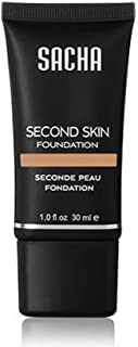 Flash-friendly Second Skin Foundation never look two-toned or ashy again- Perfect Caramel