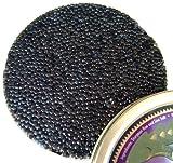 Sturgeon Caviar - Siberian Sturgeon Roe - Malossol, Farm Raised Acipsenser Baerii Caviar (1 oz)