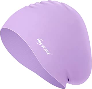 Silicone Swim Cap for Long Hair,Swimming Caps for Women...
