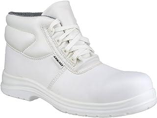 Amblers - Botas Blancas de Trabajo Seguridad FS513 Unisex