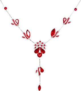 chanel black flower necklace