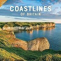 Coastline of Britain Square Wall Calenda