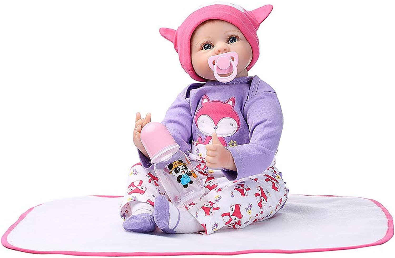 bajo precio Runrain - - - Manta de silicona para recién nacido, 56 cm, Diseño de zorro, Color morado  tienda en linea