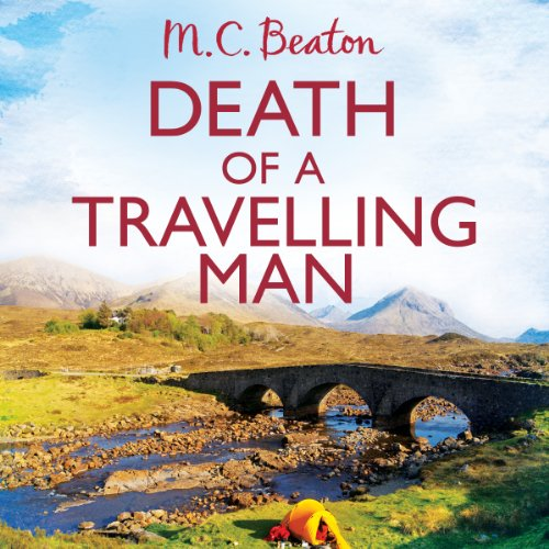 Death of a Travelling Man audiobook cover art