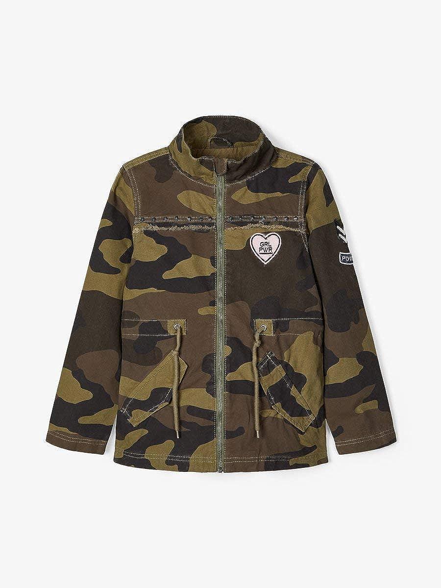 Name It Nkfmelsa Camo Jacket Giacca Bambina