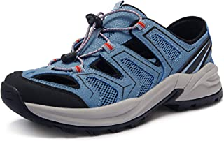 ATIKA Men's Outdoor Hiking Sandals, Closed Toe Trail Walking Sandals, Lightweight Athletic Sport Sandals, Summer Shoes
