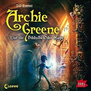 Archie Greene und die Bibliothek der Magie Titelbild