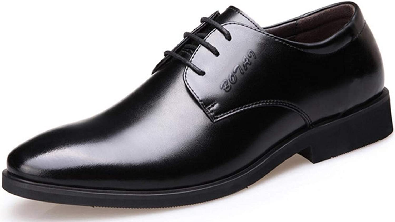 Shiney Men's shoes New Business Dress British Lace Up Casual shoes