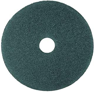 3M 08405 Cleaner Floor Pad 5300, 12-Inch Diameter, Blue, 5/Carton