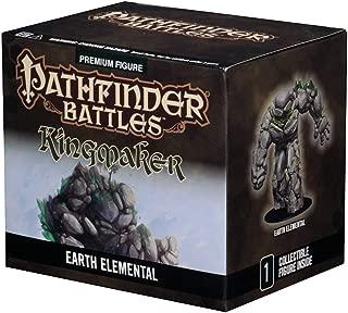 WizKids 73137 Pathfinder Battles: Kingmaker, Huge Earth Elemental, Figure