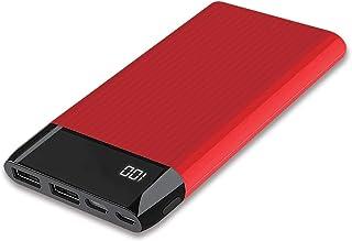 Dexim Sy15 Led Ekranlı Hızlı 10.000Mah Powerbank, Kırmızı