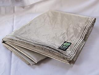 Blocwifi Emf WiFi Radiation Shielding Bed Mat with Earthing Kit | Identity Theft Blocker Fabric | RFID Bluetooth Block Cop...